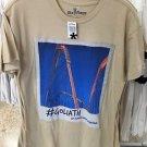 Six Flags Magic Mountain Goliath The Ride Mens Beige T-Shirt SIZE: S,M,L XL,XXL