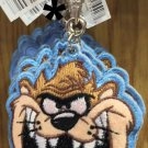 Six Flags Magic Mountain Looney Tunes Tasmanian Devil Felt Emb Keychain New