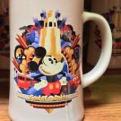 Disney Parks Disney California Adventure Mickey Mouse Tall Ceramic Mug Cup New