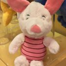 "Disney Parks Exclusive Winnie The Pooh's Piglet 9"" Bean Bag Toy Plush New"