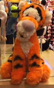 "Disney Parks Exclusive Winnie The Pooh's Tigger 9"" Bean Bag Toy Plush New"