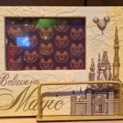 Disney Parks Believe In Magic Cinderella Castle Vintage Picture Photo Frame New
