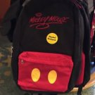 DISNEY PARKS EXCLUSIVE MICKEY MOUSE SIGNATURE HOODIE EAR BACKPACK ADULT SIZE NEW