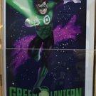 Six Flags Magic Mountain DC Comics Green Lantern Postcard New