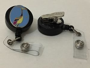 Disney Up Kevin Retractable Badge ID Holder w/ Swivel Alligator Clip