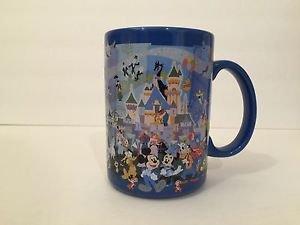 Disneyland 60th Diamond Celebration Anniversary Sixty Years of Magic Mug Cup New