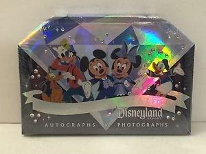 Disneyland Diamond Celebration 60th Anniversary Autograph-Photograph Book NEW