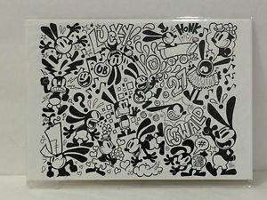 Disney WonderGround Oswald The Lucky Rabbit & Ortensia Postcard Matt Hawkins New