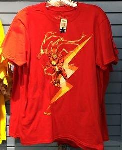 Six Flags Magic Mountain DC Comics The Flash Men's Shirt XS,M,L XL,XXL New