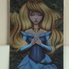 Disney WonderGround Sleeping Beauty Aurora Cursed Postcard Shannon Bonatakis NEW