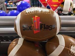 Six Flags Magic Mountain Mini Soft Football New