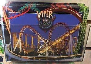 Six Flags Magic Mountain Viper Attraction Postcard New