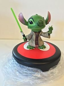 Walt Disney World Star Wars Weekends Stitch as Jedi Master Yoda Figure ONLY! New