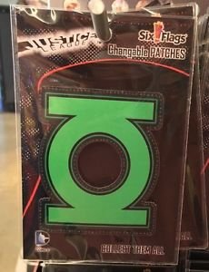 Six Flags Magic Mountain DC Comics Changeable Patches Green Lantern Symbol New