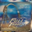 Six Flags Magic Mountain Full Throttle 6-D Motion Lenticular Magnet New