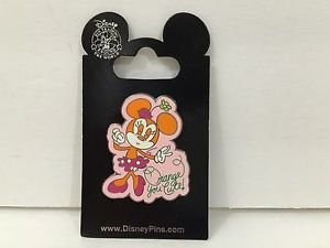Disney Parks Trading Pin Feat. Minnie Mouse Orange You Cute New