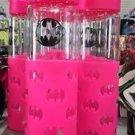 Six Flags Magic Mountain DC Comics Batgirl Pink Travel Water Bottle Flip Top New