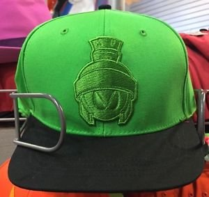 Six Flags Magic Mountain Looney Tunes Marvin the Martian Adjustable Snapback Hat