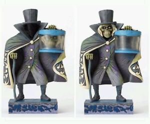 Disney Parks Jim Shore Showcase Haunted Mansion Hatbox Ghost Figure New w/ Box