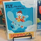 DISNEY WONDERGROUND GALLERY FLY DUMBO AIR POSTCARD DAVE PERILLO