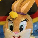 Six Flags Magic Mountain Looney Tunes Lola Bunny Tube Plush New