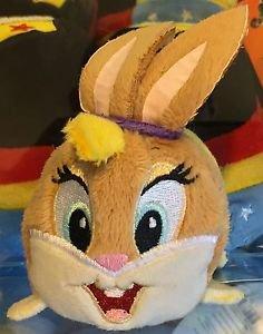 Six Flags Magic Mountain Looney Tunes Lola Bunny Tube Plush New
