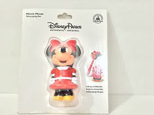 DISNEY PARKS EXCLUSIVE MINNIE MOUSE TELESCOPING INK PEN NEW
