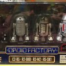 Disney Parks Star Wars Rogue One Droid Factory 4 Pack C2-B5 R2-BHD R3-M2 R5-SK1