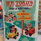 DISNEY WONDERGROUND GALLERY MR. TOAD'S WILD RIDE POSTCARD DAVE PERILLO