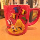 Disney Parks Happy Pluto Ceramic Coffee Mug New