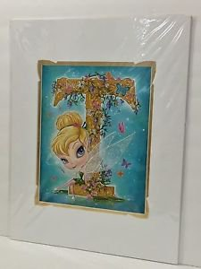 Disney WonderGround Tinker Bell T is For Tink Deluxe Print by John Coulter New