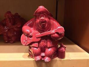 Disney Parks Big Al Country Bear Jamboree Red Ceramic Figurine New