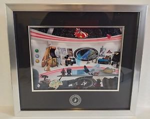 Disney Parks Pin Frame Set LE Commander Mickey's Sci-Fi Adventures New (Retired)