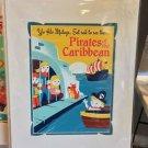 DISNEY WONDERGROUND GALLERY PIRATES OF THE CARIBBEAN DELUXE PRINT DAVE PERILLO