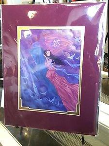 Disney WonderGround Mulan Takes Flight Deluxe Print by Martin Hsu New (Retired)