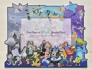 Disneyland 60th Diamond Celebration 60 Years of Magic Acrylic Photo Frame New