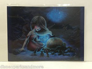 Disney WonderGround Gallery Cinderella Postcard by Shannon Bonatakis New HTF