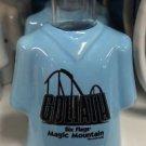 Six Flags Magic Mountain Goliath Ceramic Shirt Style Shot New