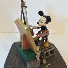 Disney Parks Self Portrait Mickey Mouse and Walt Disney Figurine New w/ Box