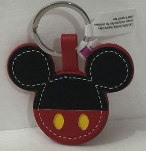 DISNEY PARKS MICKEY MOUSE BODY PARTS MICKEY OVERALLS KEYCHAIN NEW