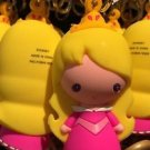 Disney Parks Cartoon Cuties Sleeping Beatuy Princess Aurora Keyring Keychain New