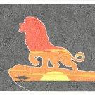 Disney WonderGround Gallery Pride Rock The Lion King Postcard Gregg Visintainer