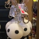 Disney Parks Nightmare Jack Skellington Big Face Figure Metal Rubber Keychain