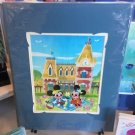 Disney WonderGround Mickey & Minnie Mouse Dapper Day Print by Joey Chou New