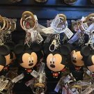 Disney Parks Mickey Mouse Big Face Figure Metal Rubber Keychain New