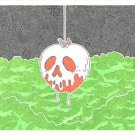 Disney WonderGround Gallery Snow White's Poison Apple by Gregg Visintainer New