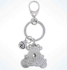 Disney Parks Disney Boutique Cinderella's Carriage Metal Keychain New