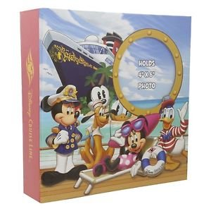 "Disney Cruise Line Exclusive Photo Album Holds 200 4""x6"" Pictures New"