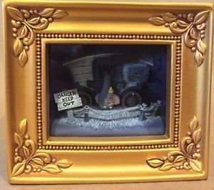 Disney Parks Dumbo in Train Gallery of Light by Olszewski NEW IN BOX