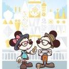 Disney WonderGround Hipster Mickey Small World Deluxe Print by Jerrod Maruyama